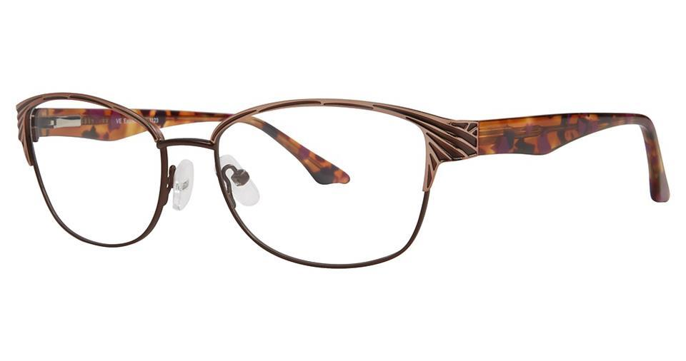 Brown-Modern Rectangular EXP 1123 Frame-Prescription Glasses-Eyeglass Factory Outlet