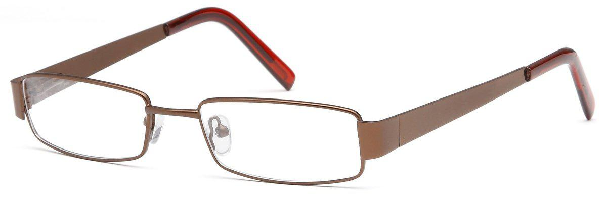 Brown-Modern Rectangular PT 87 Frame-Prescription Glasses-Eyeglass Factory Outlet