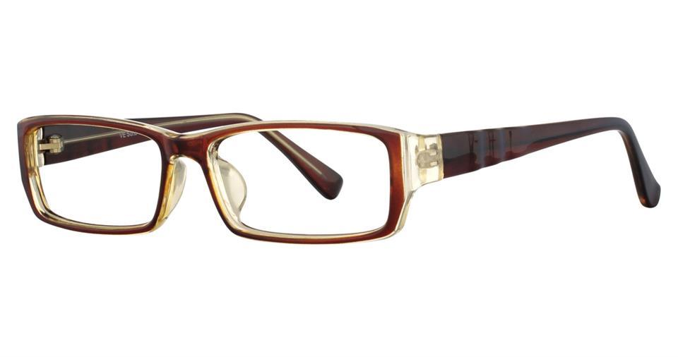 Brown-Modern Rectangular Soho 115 Frame-Prescription Glasses-Eyeglass Factory Outlet