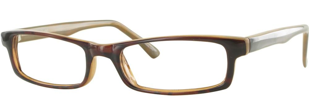 Brown-Modern Rectangular Soho 56 Frame-Prescription Glasses-Eyeglass Factory Outlet