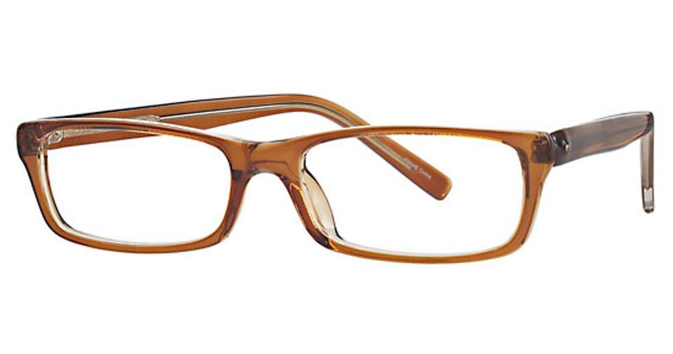 Brown-Modern Rectangular Soho 60 Frame-Prescription Glasses-Eyeglass Factory Outlet