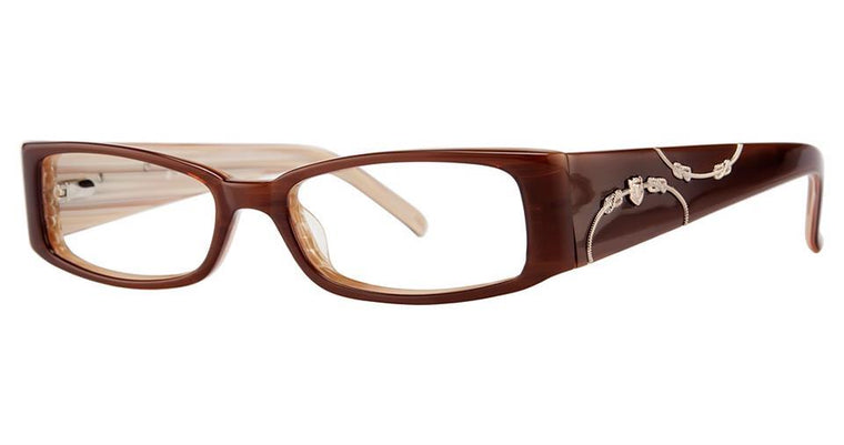 Tortoise-Modern Rectangular V 4016 Frame-Prescription Glasses-Eyeglass Factory Outlet