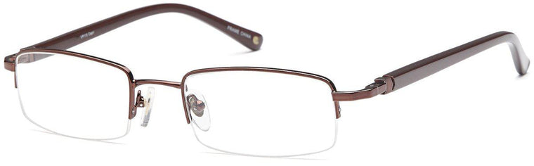 Black-Modern Rectangular VP 115 Frames-Prescription Glasses-Eyeglass Factory Outlet