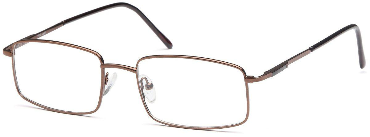 Brown-Modern Square PT 69 Frame-Prescription Glasses-Eyeglass Factory Outlet