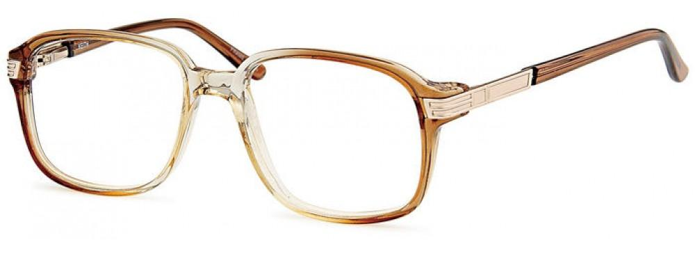 Brown-Retro Oval Keith Frame-Prescription Glasses-Eyeglass Factory Outlet