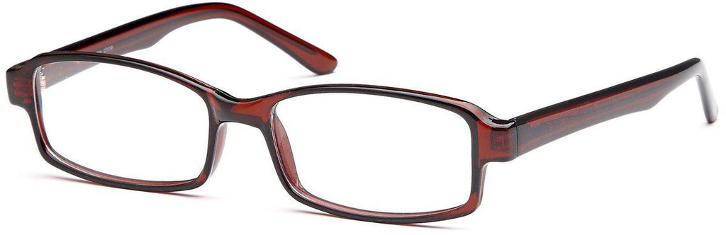 Brown-U 34-Prescription Glasses-Eyeglass Factory Outlet