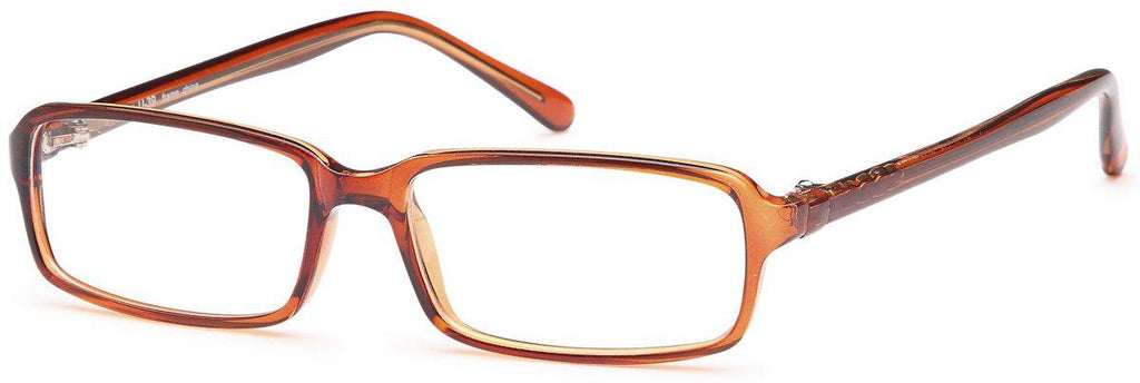 Brown-U 39-Prescription Glasses-Eyeglass Factory Outlet