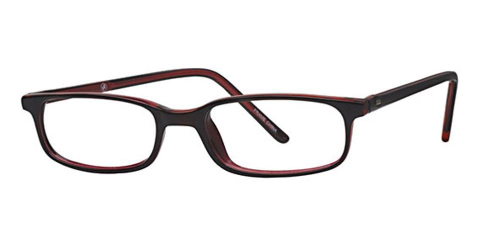 Burgundy-Classic Rectangular Soho 39 Frame-Prescription Glasses-Eyeglass Factory Outlet