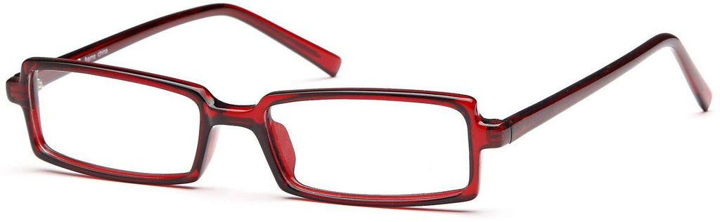 Burgundy-U 37-Prescription Glasses-Eyeglass Factory Outlet