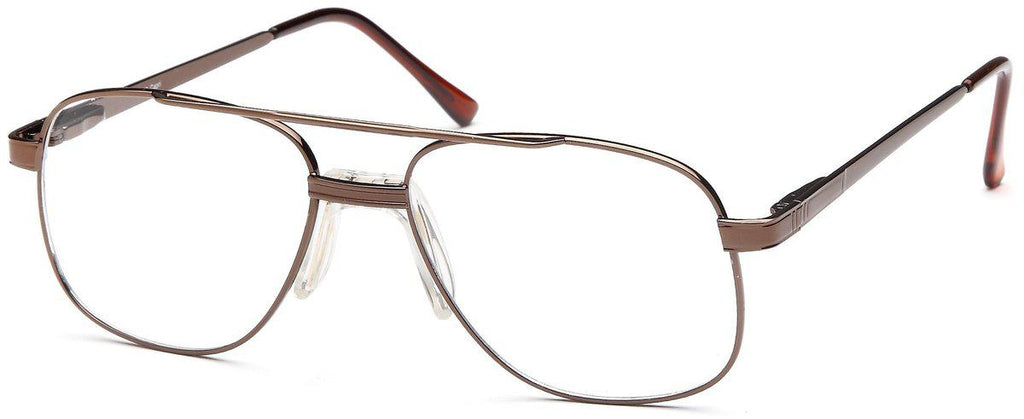 Coffee-Classic Aviator PT 55 Frame-Prescription Glasses-Eyeglass Factory Outlet