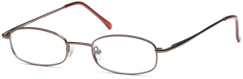 Coffee-Classic Oval PT 62 Frame-Prescription Glasses-Eyeglass Factory Outlet
