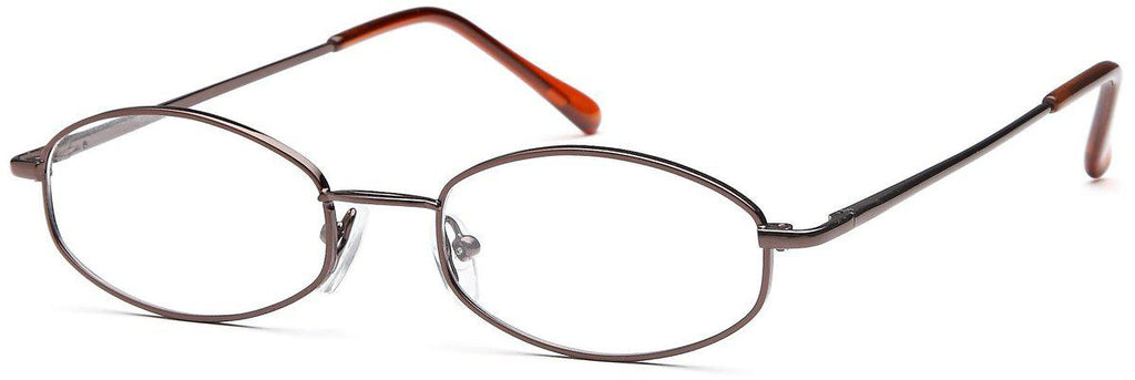 Coffee-Classic Oval PT 7710 Frame-Prescription Glasses-Eyeglass Factory Outlet
