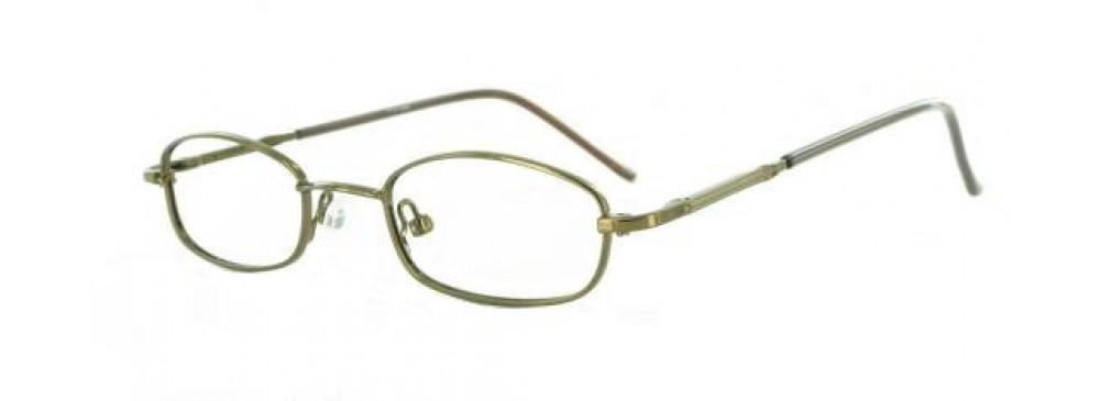 Coffee-Classic Oval PT 7714 Frame-Prescription Glasses-Eyeglass Factory Outlet