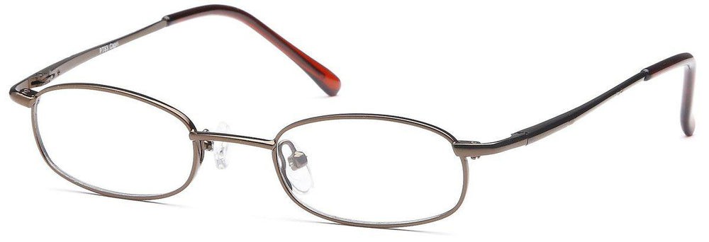 Coffee-Classic Oval PT 83 Frame-Prescription Glasses-Eyeglass Factory Outlet