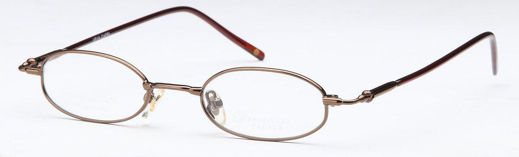 Coffee-Classic Oval VP 14 Frames-Prescription Glasses-Eyeglass Factory Outlet