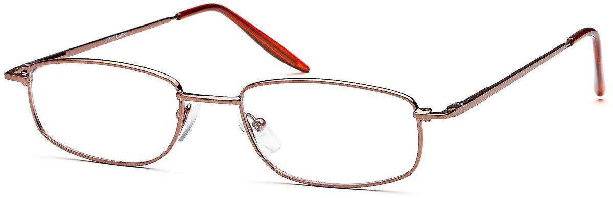 Coffee-Classic Rectangular PT 60 Frame-Prescription Glasses-Eyeglass Factory Outlet