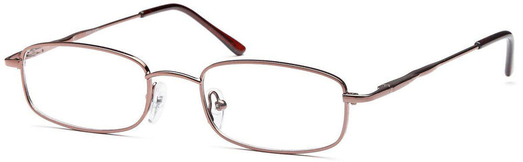 Silver-Classic Rectangular PT 65 Frame-Prescription Glasses-Eyeglass Factory Outlet