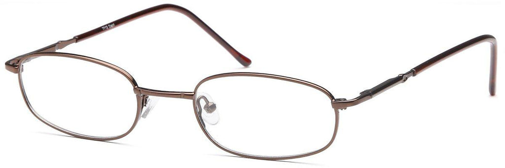 Coffee-Classic Rectangular PT 7711 Frame-Prescription Glasses-Eyeglass Factory Outlet