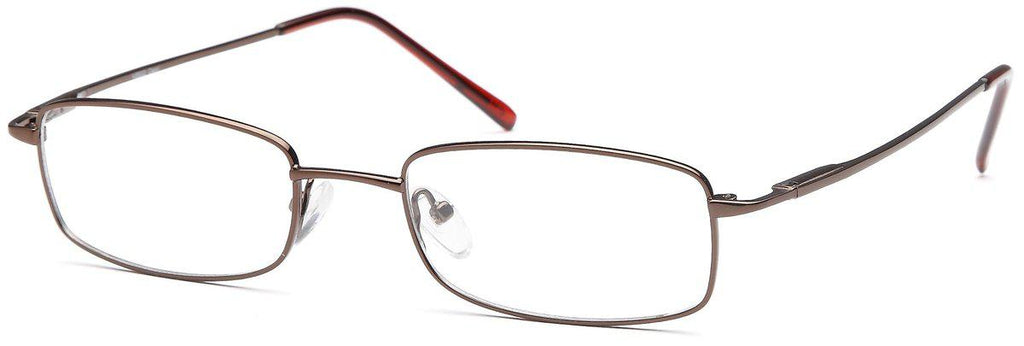 Coffee-Classic Rectangular VS 502 Frame-Prescription Glasses-Eyeglass Factory Outlet