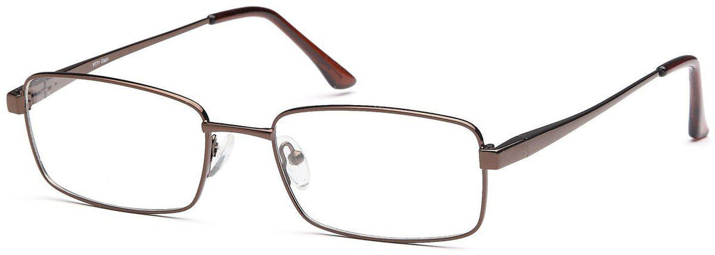 Coffee-Modern Square PT 71 Frame-Prescription Glasses-Eyeglass Factory Outlet