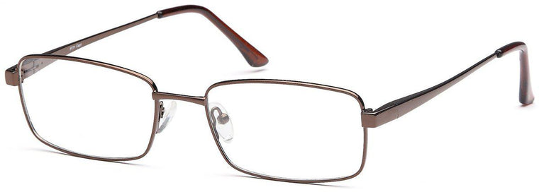 Gunmetal-Modern Square PT 71 Frame-Prescription Glasses-Eyeglass Factory Outlet