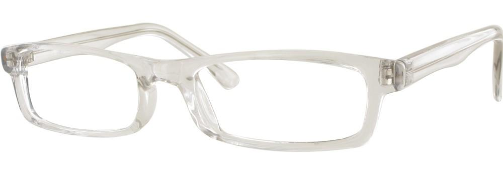 Crystal-Modern Rectangular Soho 56 Frame-Prescription Glasses-Eyeglass Factory Outlet