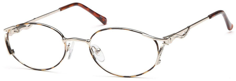 Silver-Classic Oval Lilac Frame-Prescription Glasses-Eyeglass Factory Outlet
