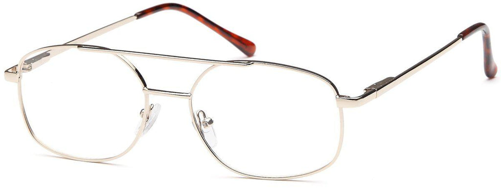 Gold-Classic Aviator Ivy Frame-Prescription Glasses-Eyeglass Factory Outlet