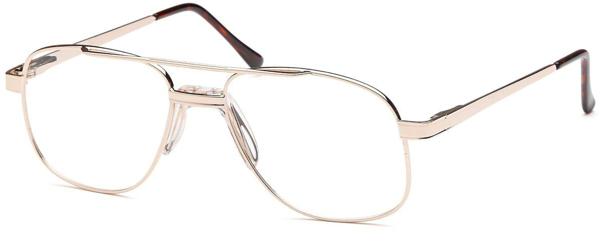 Gold-Classic Aviator PT 55 Frame-Prescription Glasses-Eyeglass Factory Outlet