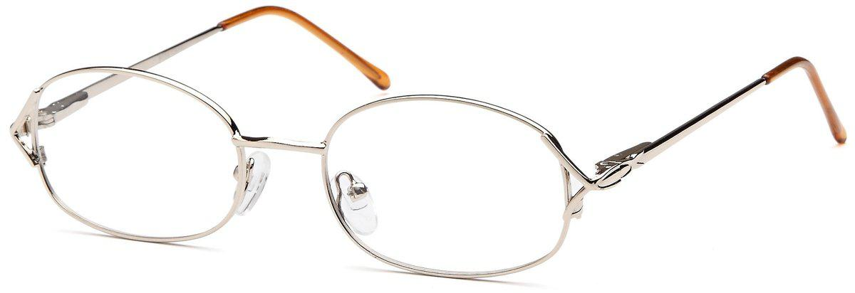 Gold-Classic Oval PT 58 Frame-Prescription Glasses-Eyeglass Factory Outlet