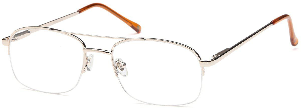 Gold-Classic Oval VP 126 Frames-Prescription Glasses-Eyeglass Factory Outlet