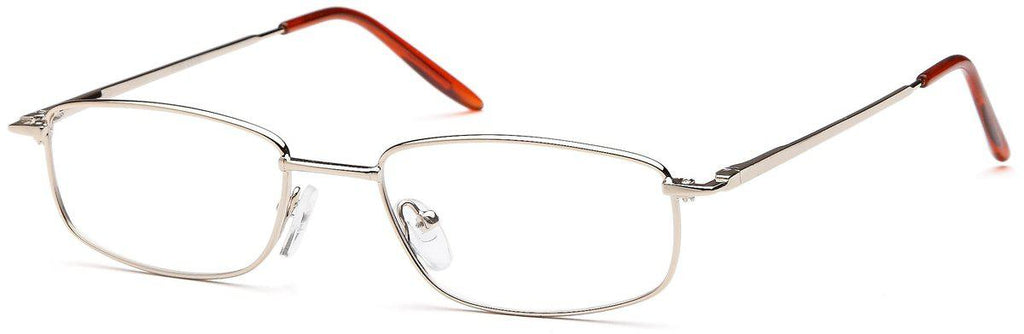 Gold-Classic Rectangular PT 60 Frame-Prescription Glasses-Eyeglass Factory Outlet