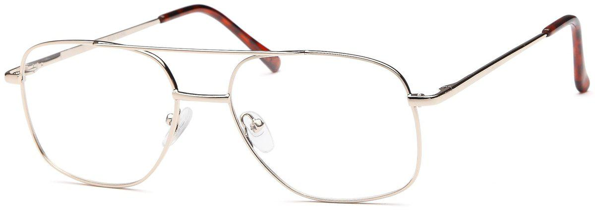 Gold-Classic Square PT 45 Frame-Prescription Glasses-Eyeglass Factory Outlet