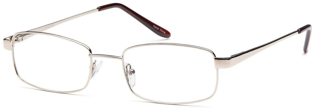 Gold-Modern Rectangular PT 78 Frame-Prescription Glasses-Eyeglass Factory Outlet