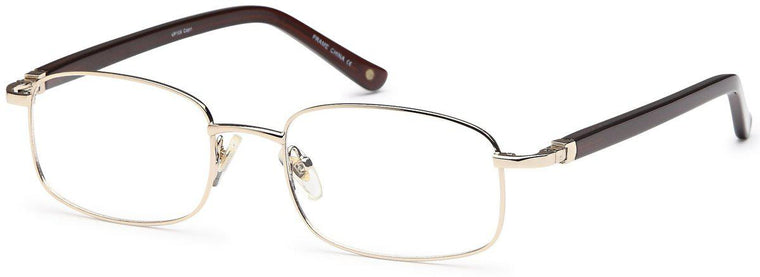 Silver-Modern Rectangular VP 109 Frame-Prescription Glasses-Eyeglass Factory Outlet