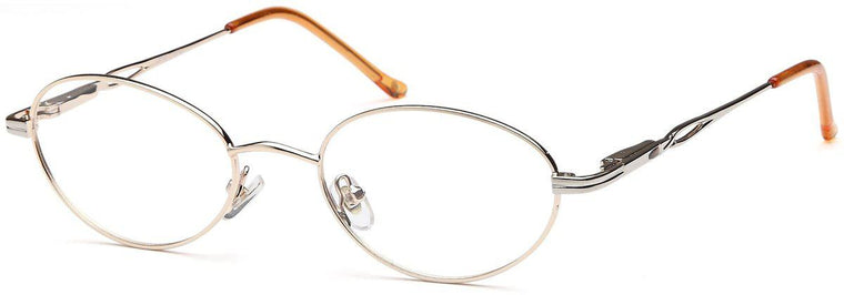 Coffee-Retro Oval VP 30 Frame-Prescription Glasses-Eyeglass Factory Outlet