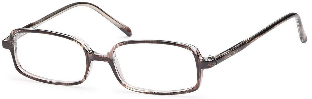 Gray-Classic Rectangular U 28 Frame-Prescription Glasses-Eyeglass Factory Outlet
