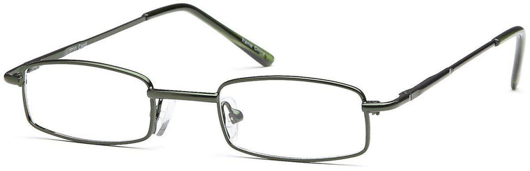 Green-Modern Rectangular PT 7731 Frame-Prescription Glasses-Eyeglass Factory Outlet