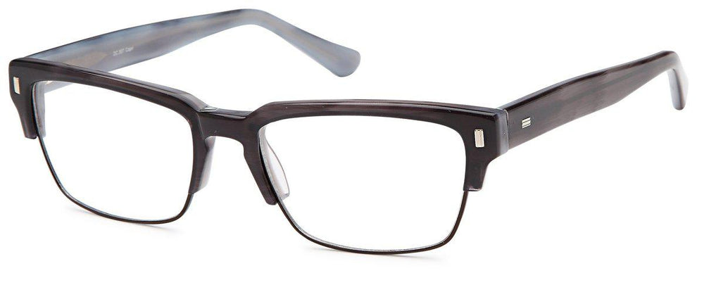 Grey-Classic Club Master DC 307 Frame-Prescription Glasses-Eyeglass Factory Outlet