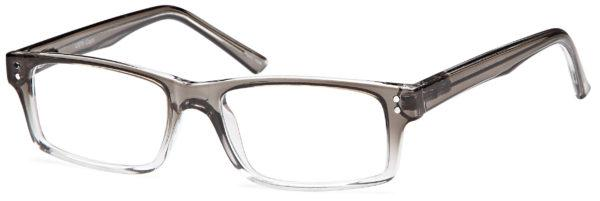 Grey-Modern Rectangular US 75 Frame-Prescription Glasses-Eyeglass Factory Outlet