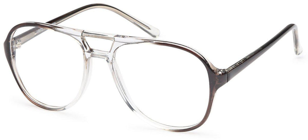 Grey-UM 73-Prescription Glasses-Eyeglass Factory Outlet