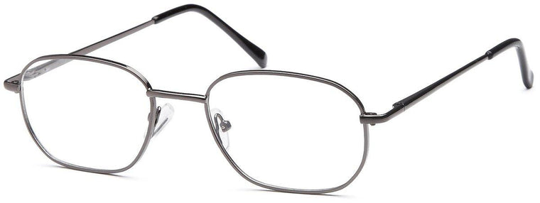 Black-Classic Oval PT 7706 Frame-Prescription Glasses-Eyeglass Factory Outlet