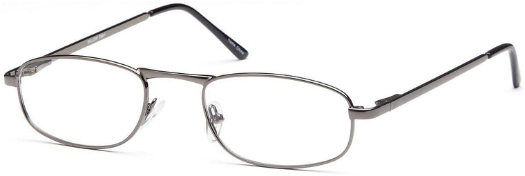 Gold-Classic Oval Willow Frame-Prescription Glasses-Eyeglass Factory Outlet