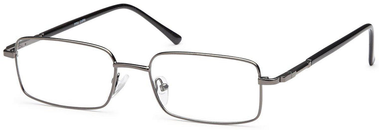 Black-Classic Rectangular PT 63 Frame-Prescription Glasses-Eyeglass Factory Outlet