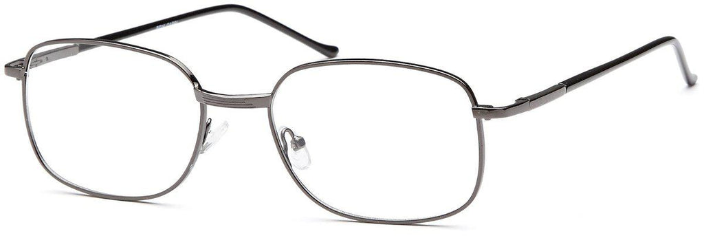 Gunmetal-Classic Square PT 36 Frame-Prescription Glasses-Eyeglass Factory Outlet