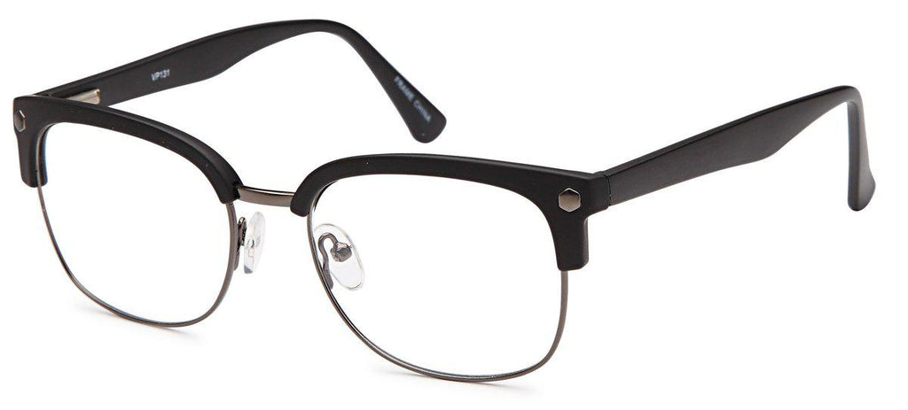 Gunmetal/Black-Club Master VP 131 Frame-Prescription Glasses-Eyeglass Factory Outlet