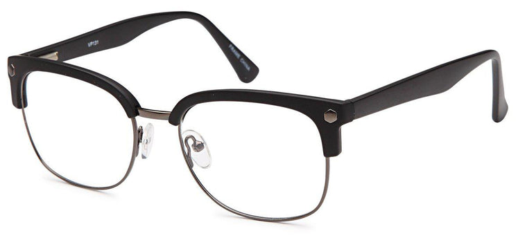 aed12002395 Club Master VP 131 Frame. Black Gold-Club Master VP 131 Frame-Prescription  Glasses-Eyeglass Factory Outlet