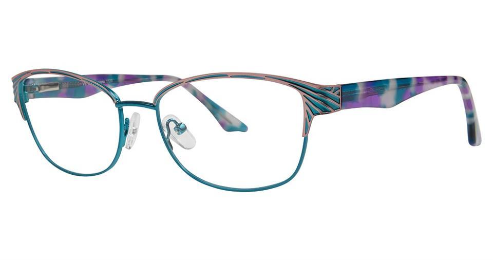 -Modern Rectangular EXP 1123 Frame-Prescription Glasses-Eyeglass Factory Outlet