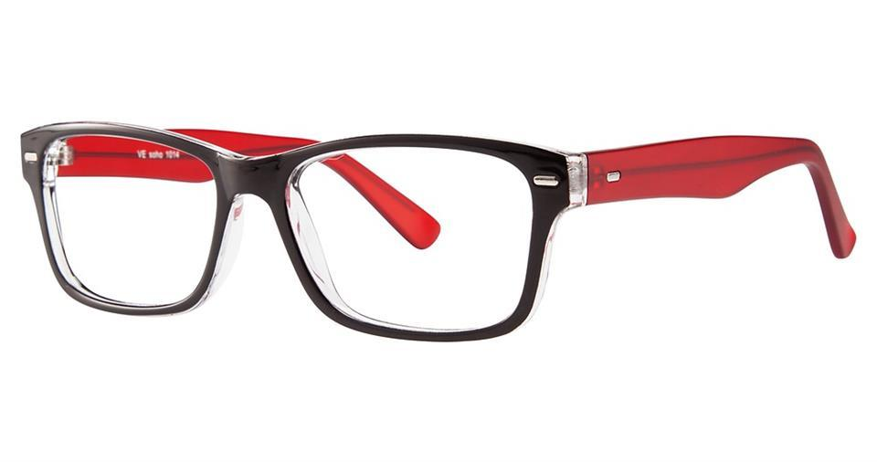-Modern Wayfarer Soho 1014 Frame-Prescription Glasses-Eyeglass Factory Outlet