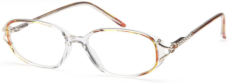 Brown-Classic Oval April Frame-Prescription Glasses-Eyeglass Factory Outlet